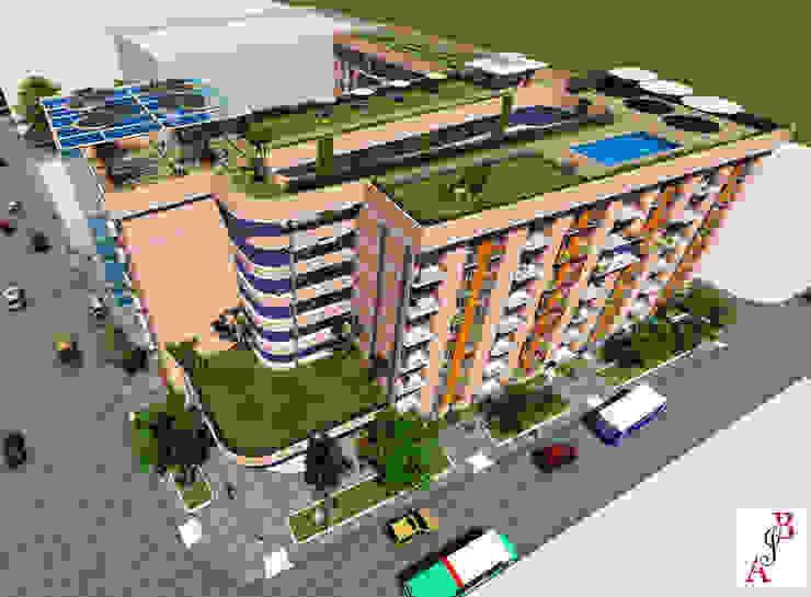 Vista aérea A.BORNACELLI Casas estilo moderno: ideas, arquitectura e imágenes