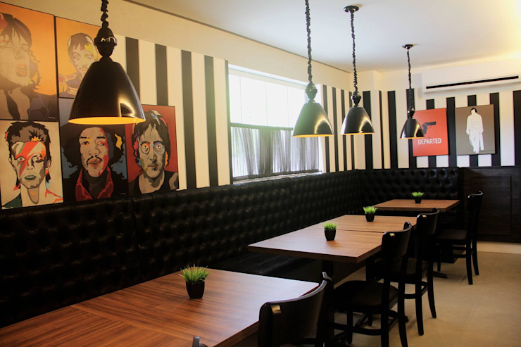 Modern Dining Room by Form Arquitetura e Design Modern