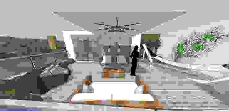 Modern Terrace by Form Arquitetura e Design Modern