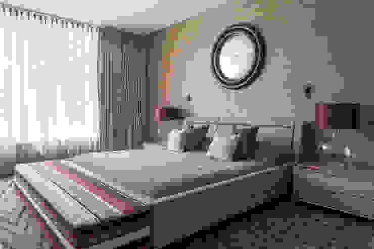 St John's Wood Family Home, Master Bedroom Nowoczesna sypialnia od Roselind Wilson Design Nowoczesny