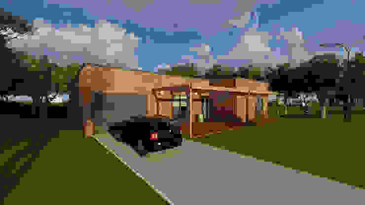 Modelo | T3 169m² Discovercasa | Casas de Madeira & Modulares Casas de madeira