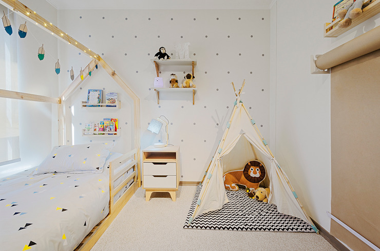 Dormitorio Montessori de Klover Escandinavo
