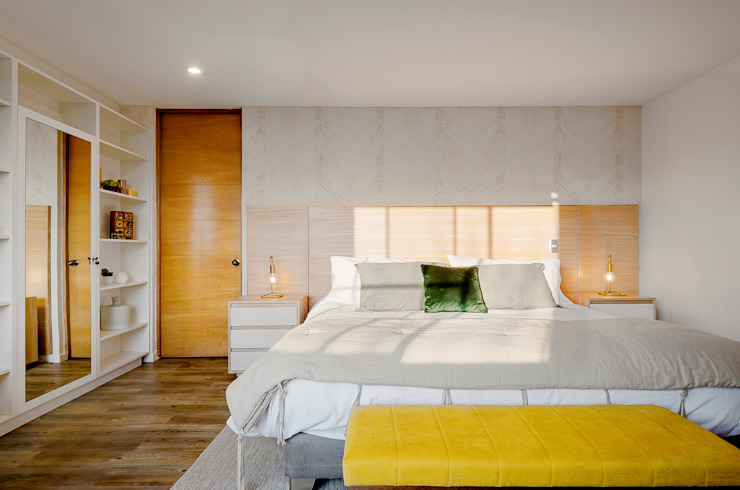 Dormitorio Principal Dormitorios de estilo escandinavo de Klover Escandinavo