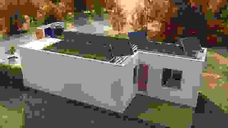 Casas ecológicas de estilo  por steel,