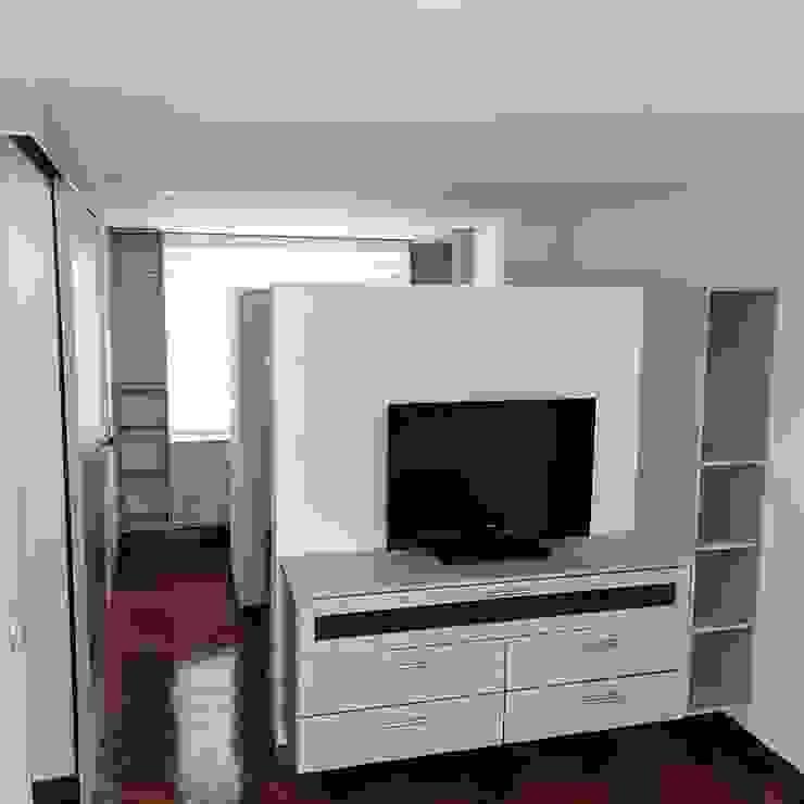 Modern style bedroom by Erick Becerra Arquitecto Modern