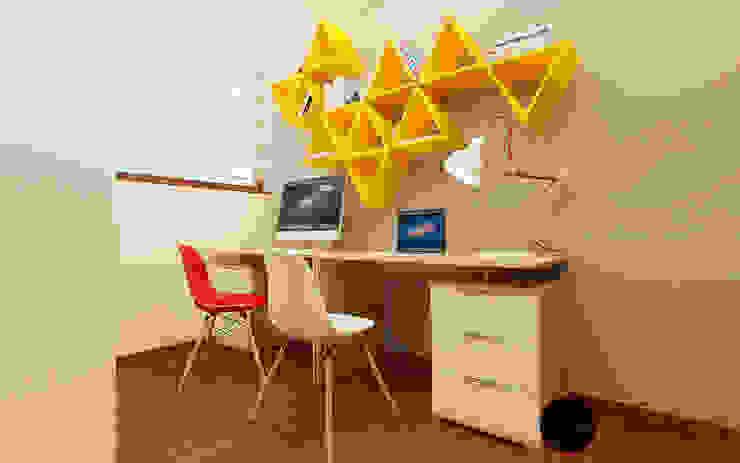 ESTUDIO INFANTIL BARRERA Estudios y despachos modernos de T+F Arquitectos Moderno