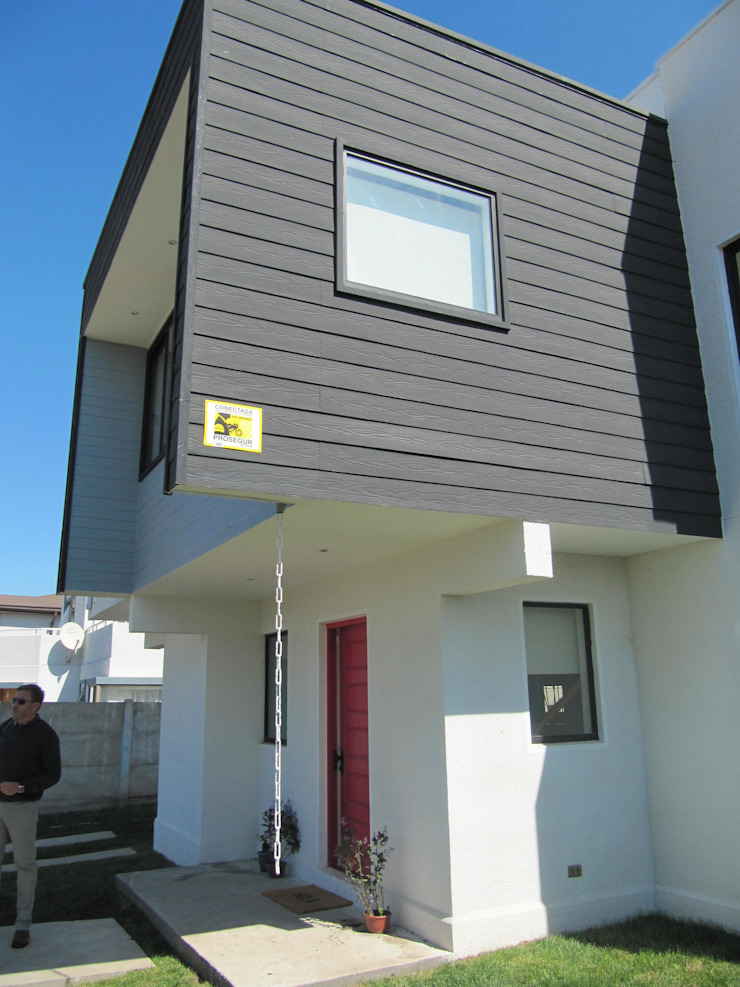 Casa Cruz de Lorena Casas estilo moderno: ideas, arquitectura e imágenes de Lau Arquitectos Moderno