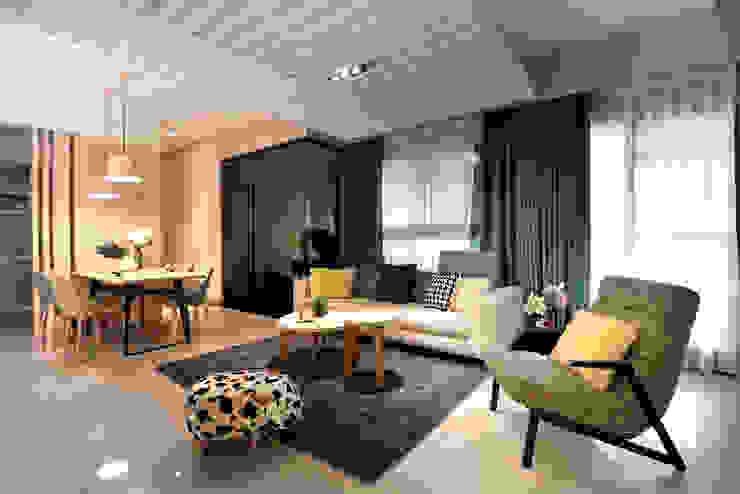 浪漫滿屋 星葉室內裝修有限公司 现代客厅設計點子、靈感 & 圖片