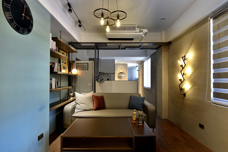 Salon industriel par 星葉室內裝修有限公司 Industriel