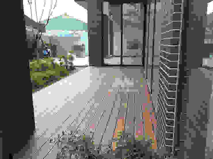 Mercedes-Benz中華賓士北台中展示中心 塑木地板 根據 新綠境實業有限公司 北歐風 塑木複合材料