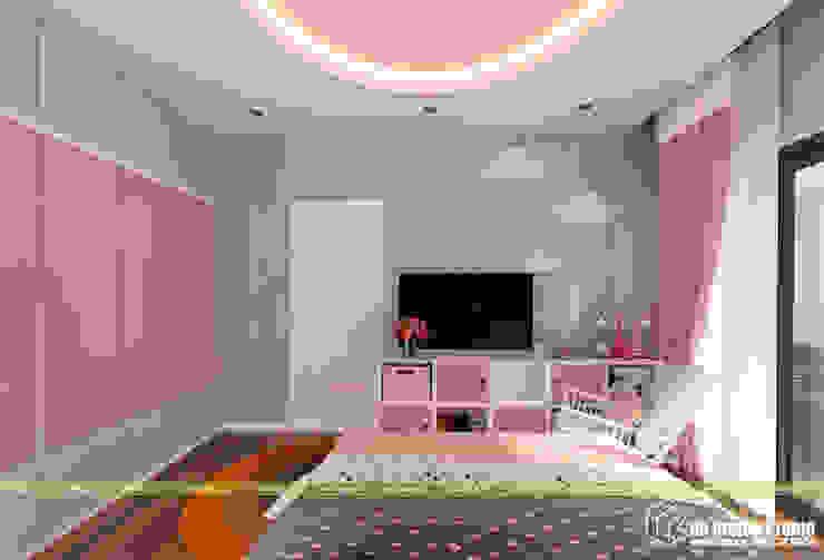 NHÀ Ở GIA ĐÌNH Phòng ngủ phong cách hiện đại bởi UK DESIGN STUDIO - KIẾN TRÚC UK Hiện đại
