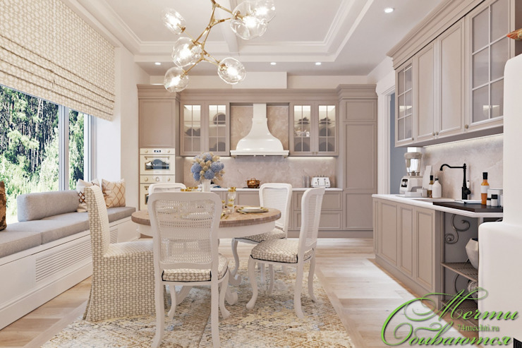 Интерьер дома с богатой историей Компания архитекторов Латышевых 'Мечты сбываются' Гостиная в классическом стиле