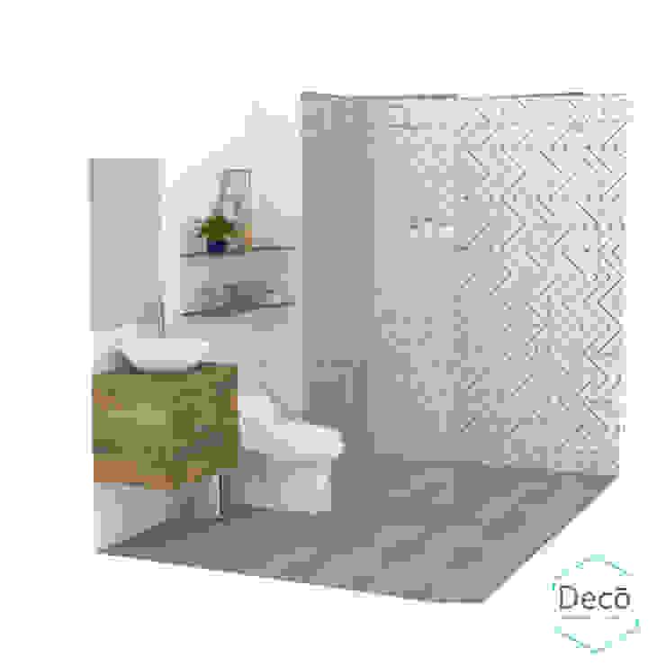 Bathroom by Decó ambientes a la medida,