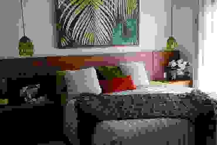 Habitación Visitas Taller Veinte Dormitorios tropicales Verde