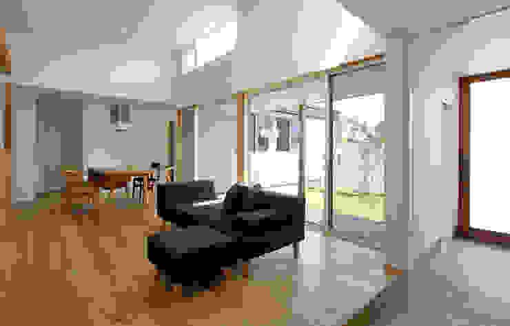 福田康紀建築計画 Modern Living Room