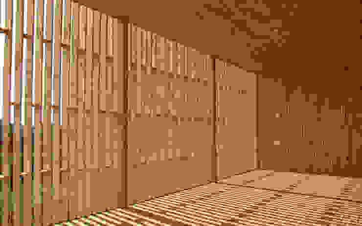 interior Balcones y terrazas escandinavas de mutarestudio Arquitectura Escandinavo