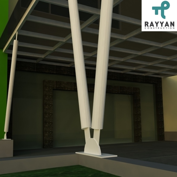 Office Exterior Eco-House Indonesia Atap