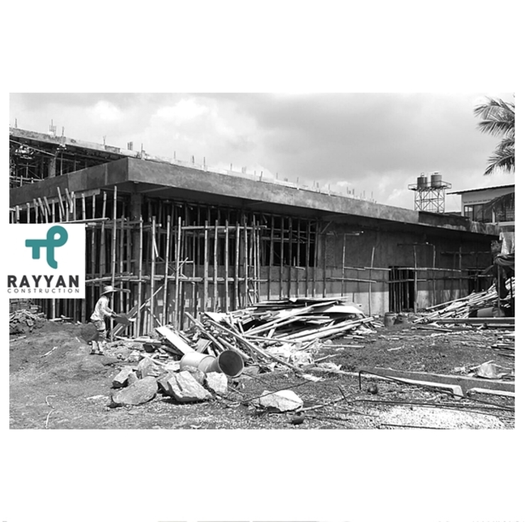 Design and Build Pharmacy Factory Rumah Gaya Industrial Oleh Eco-House Indonesia Industrial