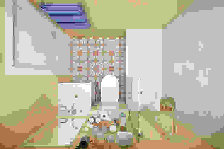 Студия архитектуры и дизайна Дарьи Ельниковой Eclectic style bathrooms