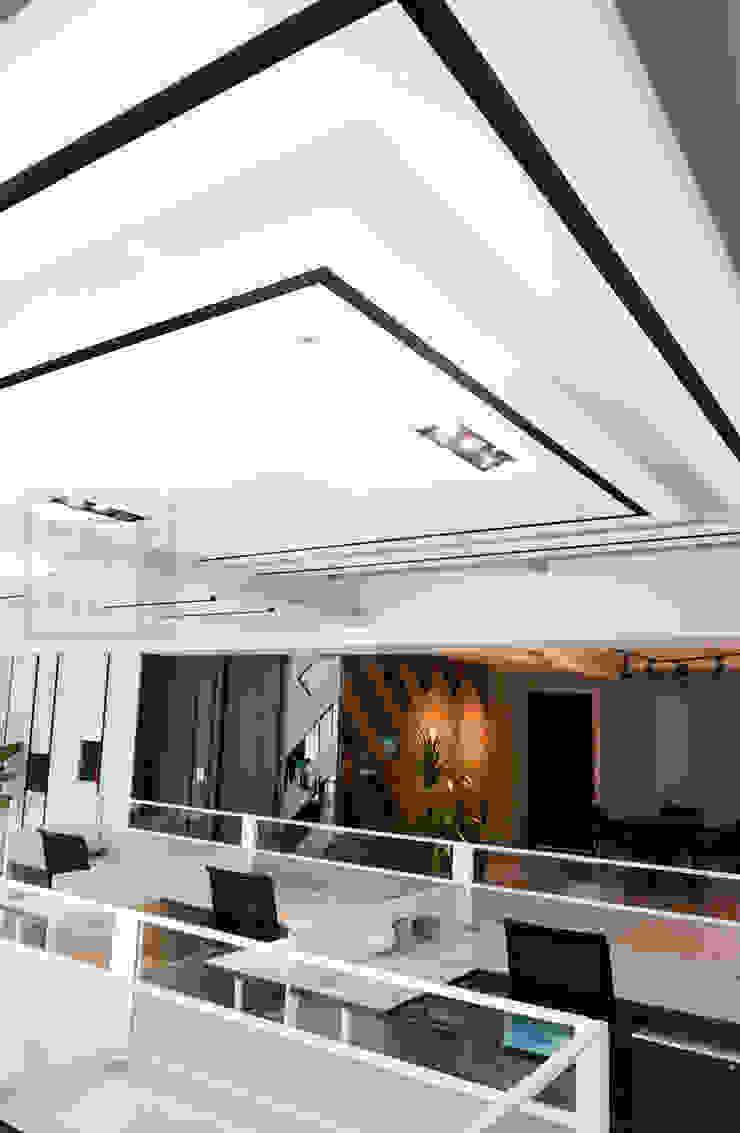 大樓商辦設計: 現代  by 沐築空間設計, 現代風