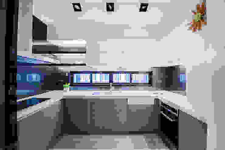 廚房 根據 沐築空間設計 古典風