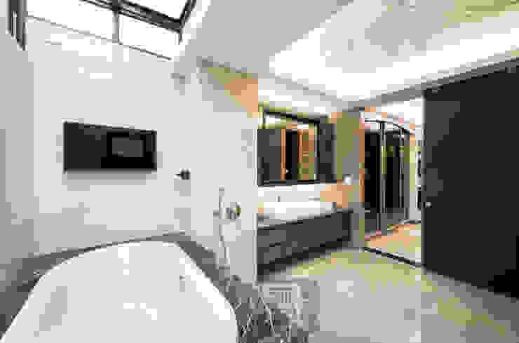 主臥浴室 根據 沐築空間設計 古典風