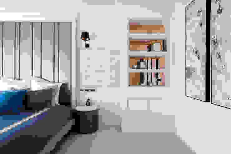 主臥一隅 根據 沐築空間設計 古典風