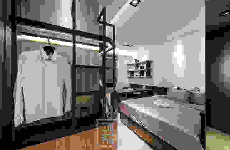 簡潔俐落男孩房 根據 沐築空間設計 現代風