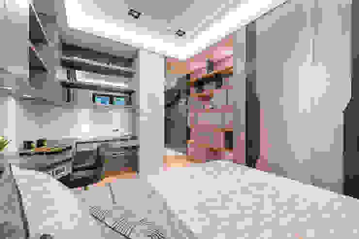 男孩房 根據 沐築空間設計 現代風