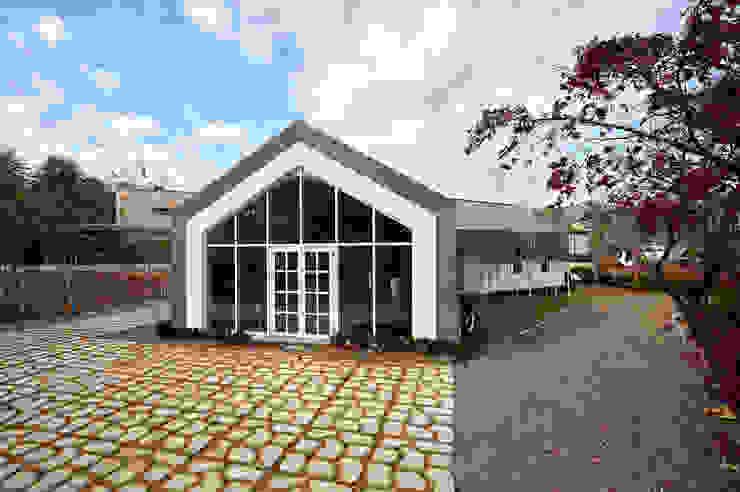 lyanature LAB (리아네이처 연구소 및 창고동) 모던스타일 주택 by 위즈스케일디자인 모던