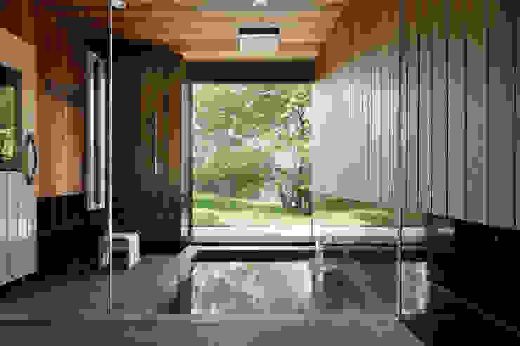 Spa Gaya Asia Oleh atelier137 ARCHITECTURAL DESIGN OFFICE Asia Kayu Wood effect
