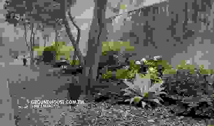 Jardines de estilo  por 大地工房景觀公司,