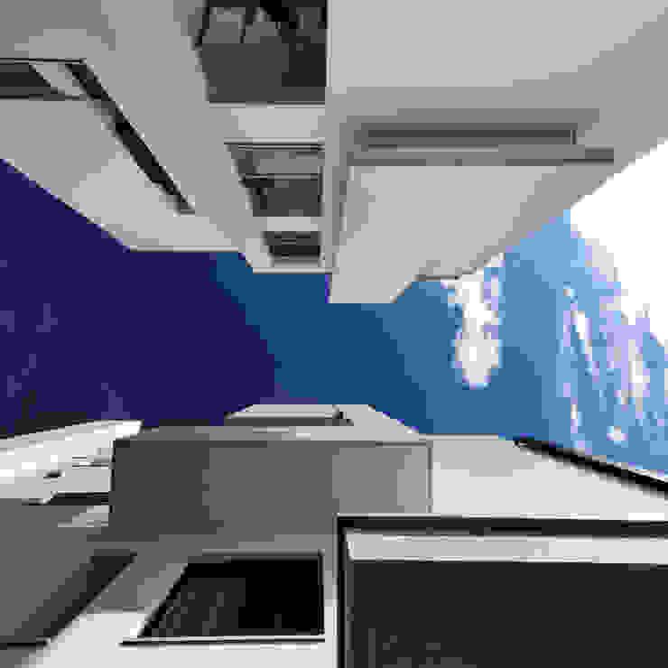 建築設計+室內設計 白居29 HW House 根據 黃耀德建築師事務所 Adermark Design Studio 簡約風