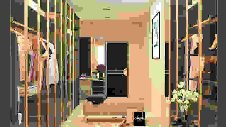 Modern Dressing Room by Urbane Storey Modern