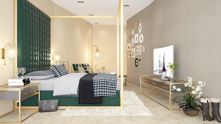 Modern Bedroom by Urbane Storey Modern