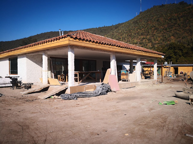 casa de campo de ATELIER3 Rural Caliza