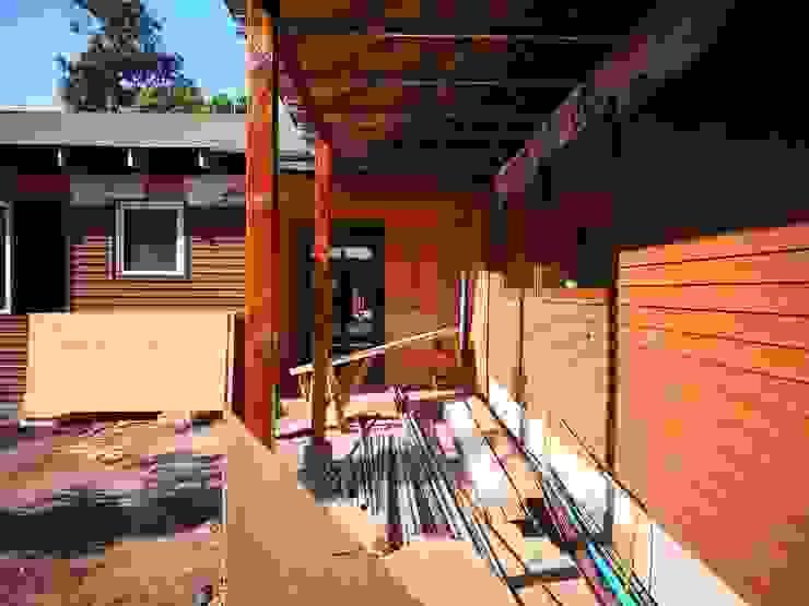 casa de campo Casas de estilo rural de ATELIER3 Rural