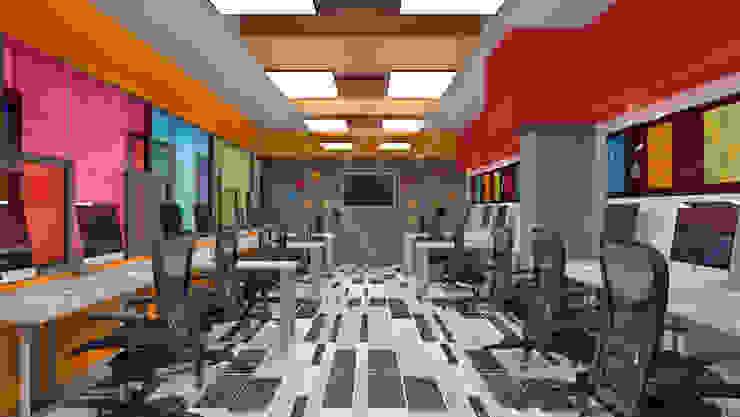 Oficina de ingeniería TAR INTERIORES Estudios y despachos modernos