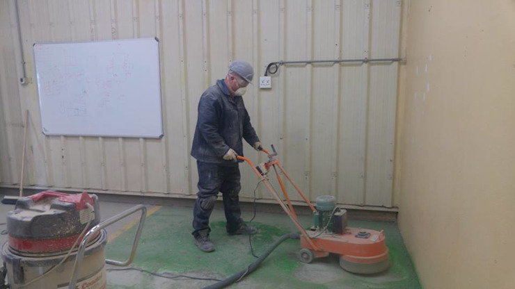 Project Start by Humac Flooring Solutions Industrial