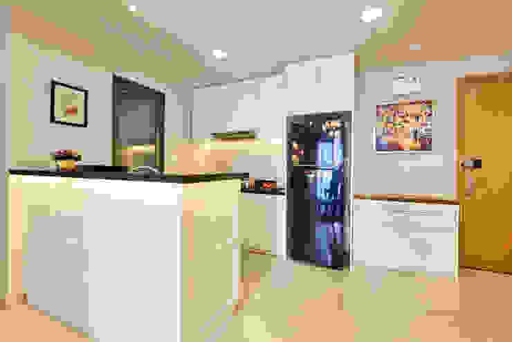 Căn hộ Masteri Nhà bếp phong cách kinh điển bởi Archifix Design Kinh điển