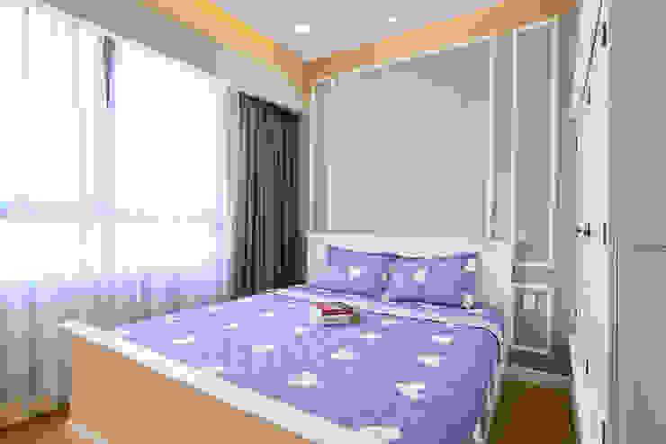 Căn hộ Masteri Phòng ngủ phong cách kinh điển bởi Archifix Design Kinh điển