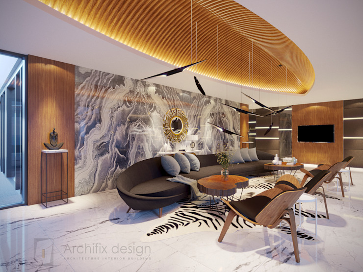 Salas de estar modernas por Archifix Design Moderno