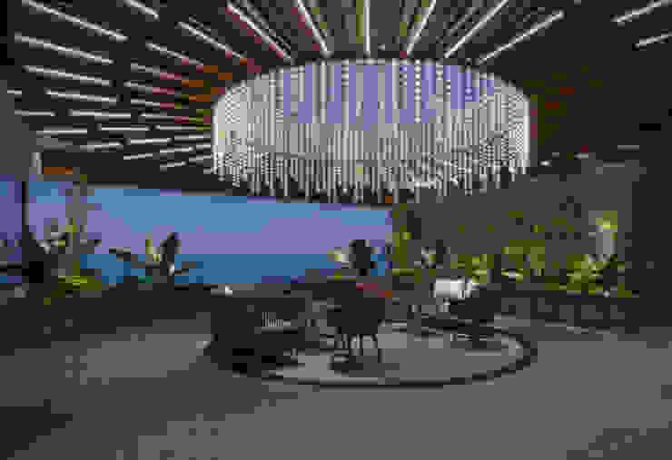 Modern balcony, veranda & terrace by Archifix Design Modern