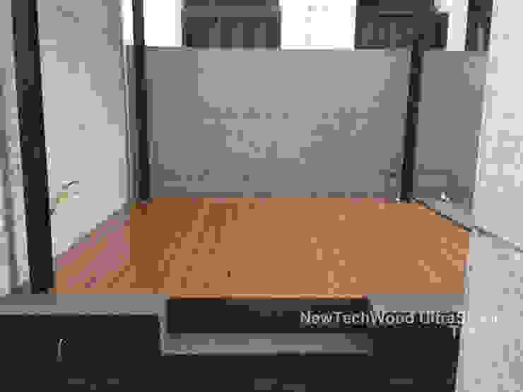 吉美一品花園-地板工程 根據 新綠境實業有限公司 簡約風 塑木複合材料