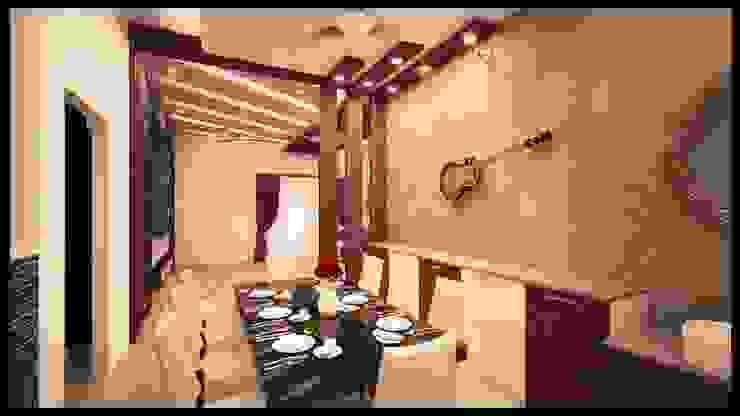 Villa Interior Design Interios by MK Design Modern dining room