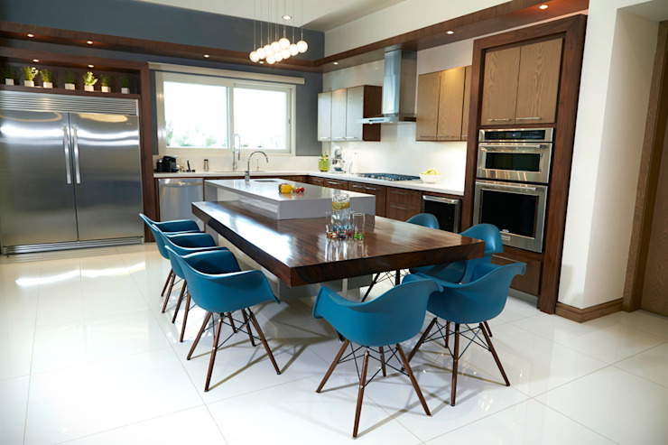 cocina arketipo-taller de arquitectura Cocinas modernas
