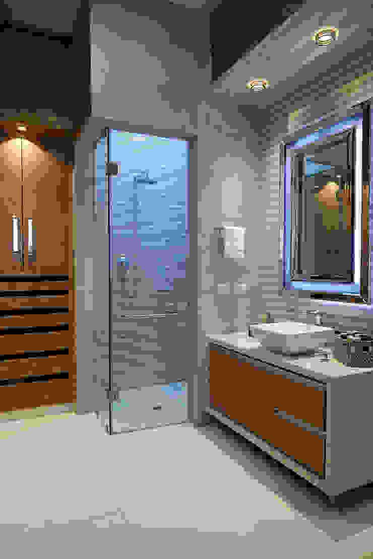 baño niño Baños de estilo moderno de arketipo-taller de arquitectura Moderno