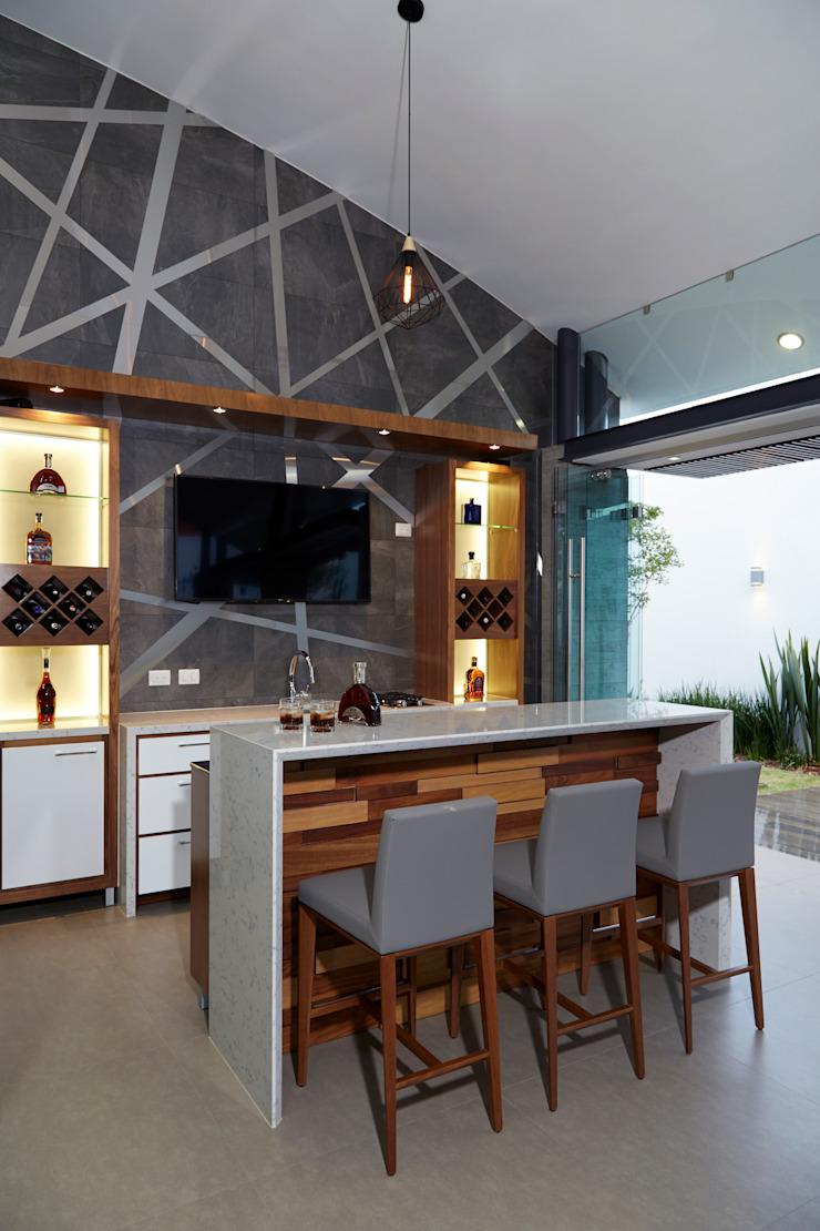 BAR Bodegas de estilo moderno de arketipo-taller de arquitectura Moderno