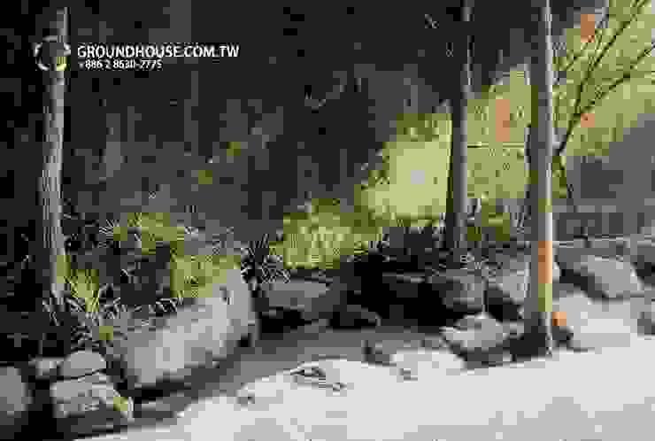 后花園 根據 大地工房景觀公司 日式風、東方風