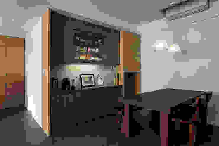 Ruang Makan Gaya Rustic Oleh 禾光室內裝修設計 ─ Her Guang Design Rustic